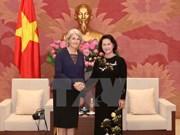 NA Chairwoman receives Danish, Swedish ambassadors