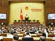 First session of 14th National Assembly opens