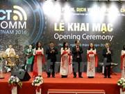 Vietnam ICT COMM 2016 opens in Hanoi