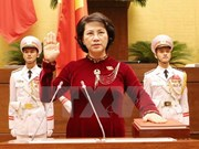 Nguyen Thi Kim Ngan re-elected as 14th NA Chairwoman