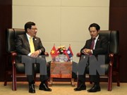 Deputy PM meets Lao, Brunei foreign ministers