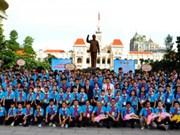 HCM City's officials meet Indochinese children attending exchange