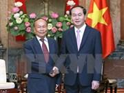 State President welcomes Cambodian Senior Minister