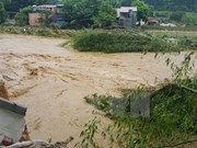 Flash flood hits Lao Cai, 10 missing