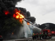 HCM City to buy new fire-fighting robots, boats