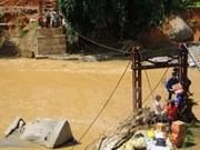 More emergency aid for flood-hit residents in Lao Cai