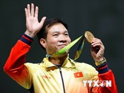 International media praise Hoang Xuan Vinh's Olympic victory
