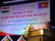 HCM City marks India's 69th Independence Day