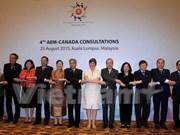 ASEAN, Canada launch annual trade policy dialogue