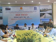 WB project improves waterway, inland transport in Mekong Delta