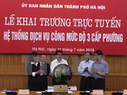 Hanoi launches e-government system in 12 districts