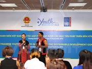 Policy dialogue draws youngsters