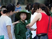 Hanoi targets care for 98 pct of children in special circumstances