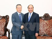 PM hosts former RoK's policy coordination minister