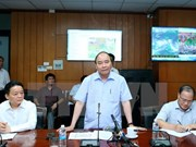 PM requires extra efforts to deal with storm Dianmu