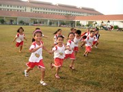 Dong Nai: 3-mln-USD kindergarten launched for workers' children