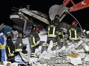 Condolences sent to Italy over powerful earthquake