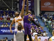 HCM City Wings set VBA points record