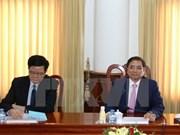 Vietnam, Laos Party organisation commissions enhance cooperation