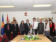 Hanoi's VFF chapter leader pays working visit to New Zealand