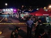 Philippines: bomb blast kills at least 14 people