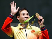 Shooter Hoang Xuan Vinh is world No. 1
