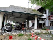 Thai police arrest first suspect of tourist-town bombs