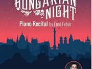 Hungarian pianist to perform at HCM City Conservatory