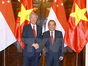 Vietnam, Singapore Deputy PMs hold talks