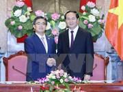 President asks for more Japanese investment in Vietnam