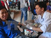 Lao Red Cross officials trained in Hanoi
