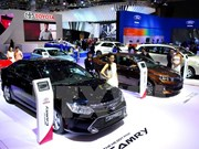 Nearly 100 car models on display at Vietnam Motor Show in Hanoi