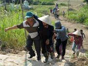 Quang Ngai holds tsunami response drill