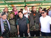 Philippines: Abu Sayyaf militants release 4 foreign hostages