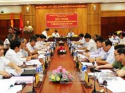 Party delegation examines counter-corruption in Tay Ninh
