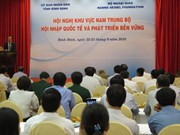 Binh Dinh hosts conference on int'l integration