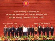 ASEAN states pledge intensified cooperation in energy security