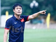 Players begin intensive training for AFF Cup