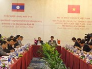 Vietnamese, Lao border localities foster justice cooperation