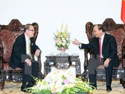 Prime Minister receives former Malaysian Senate President