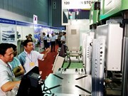 Int'l plastics, rubber industry exhibition kicks off in HCM City