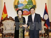 Lao papers highlight NA Chairwoman's visit