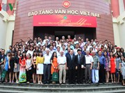 Young writers conference in Hanoi