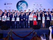 Best 50 listed companies in Vietnam honoured
