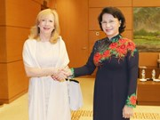 NA Chairwoman greets Deputy Speaker of UK House of Commons