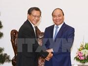 Prime Minister greets Japanese Ambassador, expert