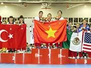 Vietnam wins two golds at World Taekwondo Championship