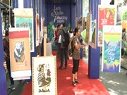 [Video] Exhibition of calendars ongoing in HCM City
