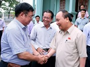 [Video] Prime Minister meets voters in Hai Phong city