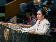 Vietnam calls for building world order in line with int'l law